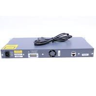 CISCO WS-C2950G-24-EI NETWORK ETHERNET SWITCH 24PORT 10/100 CATALYST