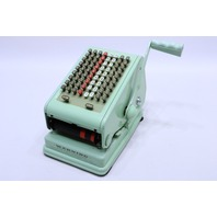 VINTAGE PAYMASTER 7000 CHECK WRITING MACHINE