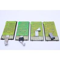 LOT OF (4) HEWLETT PACKARD 58990A GAS CHROMATOGRAPH DISPLAY BOARD