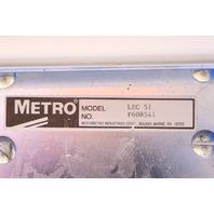 * METRO LIFELINE LEC 51 EMERGENCY CRASH CART W/ TRAY IV POLE #1