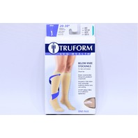 * TRUFORM 20-30 mmHg BELOW KNEE STOCKINGS M MEDIUM 8865-M BEIGE