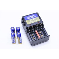 ^ ENERGIZER CHM4AA RECHARGEABLE CHARGER  FOUR NH15-AA BATTERY
