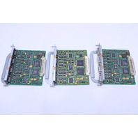 NEW LOT OF (3) CISCO 4A/S MODULE CARD