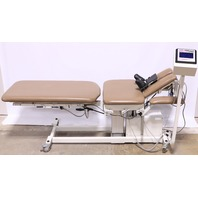 * CHATTANOOGA 3D ACTIVE TRAC 8045 DICOMPRESSION CHIROPRACTIC TABLE