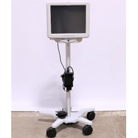 * CYBERNET ONE MP17IX i5 ALL IN ONE MEDICAL COMPUTER W/ CART