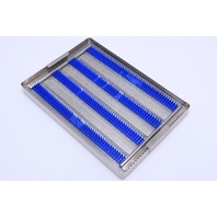 "* CASE MEDICAL SURGICAL STERILIZATION TRAY 14-1/2"" x 10"" x 1-1/2"""