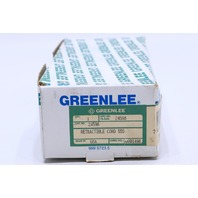 * NEW GREENLEE 24598 RETRACTIBLE CORD 555