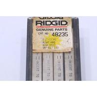"* RIDGID 48235 1/2""-13 UNC 1 SET HIGH SPEED UNIVERSAL PIPE DIES RIGHT HAND"