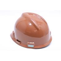 * NEW MSA V-GARD 495854 CSA Z94.1-15 TYPE 1 MEDIUM FAS-TRAC CAP HAT BROWN