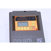 * FUJI FVR G7S FVR022G7S-2UX AC DRIVE 3HP 230V