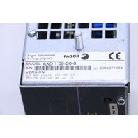 * FAGOR AXD 1.08-S0-0 SERVO AXIS DRIVE 4AMP 456/800V 0-800HZ *WARRANTY*