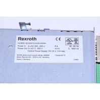 * REXROTH HCS02.1E-W0012-A-03-NNNN INDRADRIVE C 0-530V 4.5A 0-1600Hz