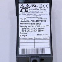 OMEGA ENGINEERING CN9000A SERIES CN9111A  TEMPERTURE CONTROL