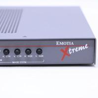 EXTRON EMOTIA XTREME ER 8728 VIDEO PROCESSOR
