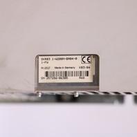 * REXROTH INDRAMAT DKR03.1-W200N-BA04-01-FW SERVO DRIVE W/ CARDS *WARRANTY*