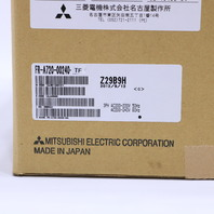 * NEW MITSUBISHI FR-A720-00240-TF INVERTER DRIVE 7.5HP 48.8 AMP 200-240 VAC 50/60 HZ
