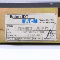 * EATON IDT PANELMATE 1000 8PG 92-00898-00 OPERATOR INTERFACE #4