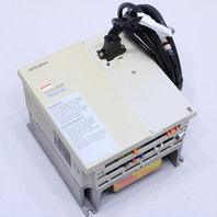 * MITSUBISHI FR-A024-1.5K-TF INVERTER DRIVE 2HP 230V WITH CBL 03 CABLE