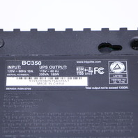 TRIPP LITE BC350 UPS UNINTERRUPTIBLE POWER SUPPLY