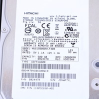 EMC 005049033 15K 2/4 600GB HARD DRIVE HUS156060VLF400