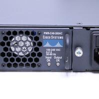 CISCO WS-C4948-S 48 PORT DUAL POWER ETHERNET SWITCH