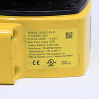 OMRON OS32C-SN-D SAFETY LASER SCANNER P/N 40591-0021