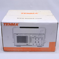 NEW TENMA 72-8380 DIGITAL STORAGE OSCILLOSCOPE 200 MHZ, 2 CHANNEL 500 MSPS