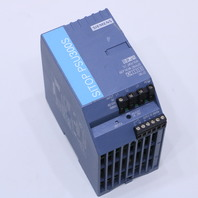 SIEMENS SITOP PSU300S 6EP1434-2BA20 POWER SUPPLY 24VDC OUTPUT 10AMP 460-480VAC INPUT