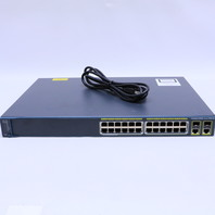 CISCO WS-C2960-24PC-L V07 ROUTER NETWORK CATALYST 2960 24PORT