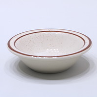 "* New World Tableware DSD-11 4.5"" Desert Sand Fruit Dish Speckled Qty. 12"