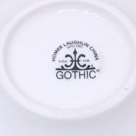 "* New Homer Laughlin Gothic 5"" Fruit Dish Bowl Qty. 12"