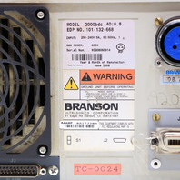 BRANSON 2000bdc 800W ULTRASONIC POWER SUPPLY GENERATOR