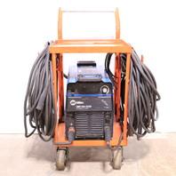 * MILLER XMT 304 CC/CV W/ AUTO-LINK DC INVERTER ARC WELDER W/ CART