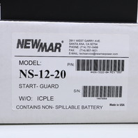 * NEW NEWMAR NS-12-20 NAV START GUARD P/N 426-3222-0