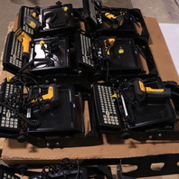 LOT OF ( 16) LXE VX5 TERMINALS KEYBOARDS BARCODE SCANNERS