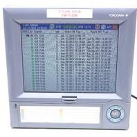 * YOKOGAWA DAQSTATION DX204C-3-2 STYLE S4 SUFFIX M1 CHART RECORDER