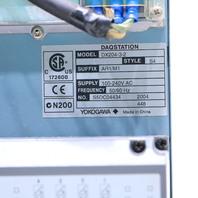 * YOKOGAWA DAQSTATION DX204-3-2 STYLE S4 SUFFIX AR1/M1 CHART RECORDER