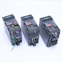 * LOT OF (3) SIEMENS MICROMASTER 6SE9211-1DA40 DRIVE