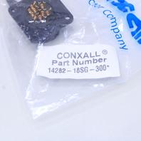 NEW CONXALL 14282-18SG-300 CIRCULAR CONNECTOR RECEPTACLE SIZE 20 18 POSITION