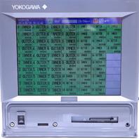 * YOKOGAWA DAQSTATION DX2010 STYLE S4 SUFFIX -3-4-2/A3/C3/M1/MC1 CHART RECORDER