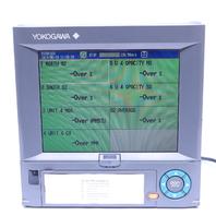 * YOKOGAWA DAQSTATION DX2010-1 S1 SUFFIX -4-2/A3/M1/USB1 CHART RECORDER