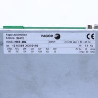 FAGOR AUTOMATION MCS-30L DRIVE