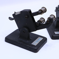 LOT OF 2 ITW ZERO SYSTEMS D-104 TRI ROLL THREAD COMPARATOR