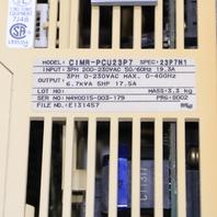 * SAFTRONICS CIMR-PCU23P7 DRIVE 6.7KVA 17.5A 0-230VAC 0-400HZ