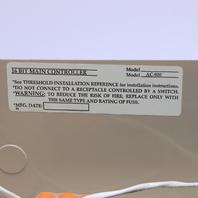 ACCESS CONTROL AC-900 16 BIT MAIN CONTROLLER W/ ENCLOSURE