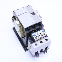 * ALLEN BRADLEY 100-A75N*3 CONTACTOR 110-120V 193-A5K3 OVERLOAD RELAY