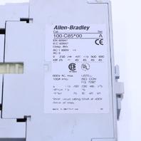 * ALLEN BRADLEY 100-C85*00 CONTACTOR 110-120V 193-EA1KE OVERLOAD RELAY