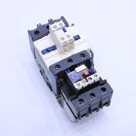 * TELEMECANIQUE LC1 D8011 CONTACTOR LR2D3363 W/ OVERLOAD RELAY