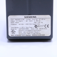 * SIEMENS MICROMASTER VECTOR 6SE3213-6CA40 DRIVE