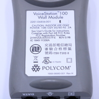 POLYCOM 220106856-001 VOICE STATION 100 WALL MOUNT